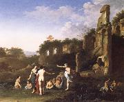 Women Bathing in a Landscape