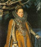 POURBUS, Frans the Younger Portrait of Maria Magdalena of Austria oil painting artist