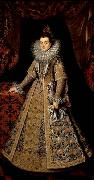 POURBUS, Frans the Younger Isabella Clara Eugenia of Austria oil painting artist