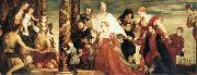 The Madonna of the house of Coccina, Paolo  Veronese