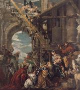 THe Adoration of the Kings, Paolo  Veronese