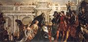The Family fo Darius Before Alexander the Great, Paolo  Veronese