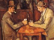 Card players, Paul Cezanne