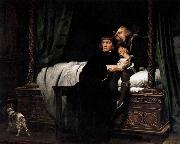 Paul Delaroche The Death of the Sons of King Edward in the Tower oil painting