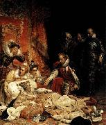 Paul Delaroche The Death of Elizabeth I, Queen of England oil painting
