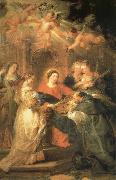 Aparicion of Maria to San IIdefonso, Peter Paul Rubens