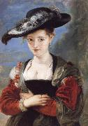 Peter Paul Rubens Portrait of Susana Lunden