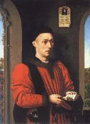 Petrus Christus Portrait of a young man oil painting reproduction