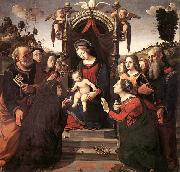 Mystical Marriage of St Catherine of Alexandria