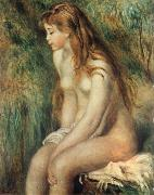 Pierre-Auguste Renoir Young Girl Bathing