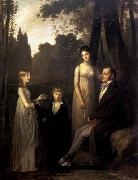 Pierre-Paul Prud hon Rutger Jan Schimmelpenninck with his Wife and Children oil painting reproduction