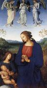 The Virgin and Child with an Angel, Pietro Perugino
