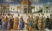 Charge to Peter, Pietro Perugino