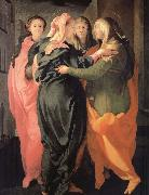 The Visitacion, Pontormo, Jacopo
