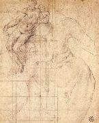 Adam and Eve at Work, Pontormo, Jacopo