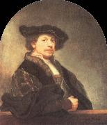 Self-Portrait at the Age of Thrity-Four, REMBRANDT Harmenszoon van Rijn