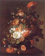 Rachel Ruysch Flower Still-Life oil painting artist