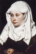 Robert Campin Portrait of a Woman oil painting reproduction