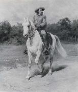 Rosa Bonheur Colonel William F.Cody oil painting
