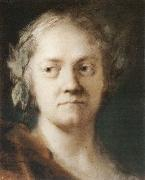 Rosalba carriera Self-Portrait oil painting