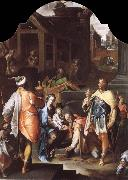 SPRANGER, Bartholomaeus The Adoration of the Kings oil painting reproduction