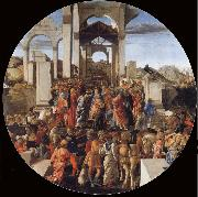 Sandro Botticelli The Adoration of the Kings oil painting reproduction