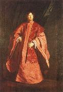 Sebastiano Bombelli Full-length portrait of Gerolamo Querini as Procurator of San Marco oil painting reproduction