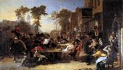Sir David Wilkie Chelsea Pensioners Reading the Waterloo Dispatch oil painting reproduction