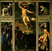 Polyptych of the Resurrection, TIZIANO Vecellio