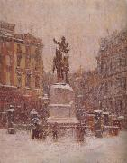 Union Square in Winter