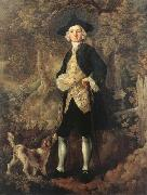 Man in a Wood with a Dog, Thomas Gainsborough
