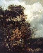 Landscape with a Peasant on a Path, Thomas Gainsborough