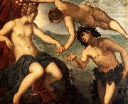 Ariadne, Venus and Bacchus, Tintoretto