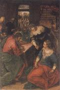 Christ in the House of Mary and Martha, Tintoretto