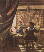 The Artist-s Studio, VERMEER VAN DELFT, Jan