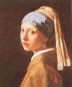 Girl with a Pearl Earring, VERMEER VAN DELFT, Jan