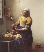 The Milkmaid, VERMEER VAN DELFT, Jan