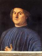 VIVARINI, Alvise Portrait of A Man oil painting
