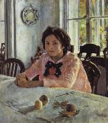 Girl awith Peaches, Valentin Serov