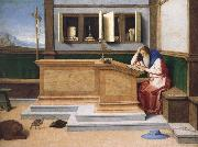 Saint Jerome in His Study, Vincenzo Catena