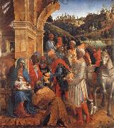 Vincenzo Foppa The Adoration of the Kings oil painting