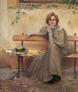 Vittorio Matteo Corcos Dreams oil painting
