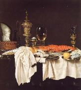 Willem Claesz Heda Still life with a Lobster