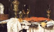 Willem Claesz Heda Detail of Still Life with a Lobster