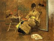 William Merrit Chase Der Kimono oil painting