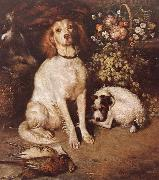 Dogs with Flowers and game