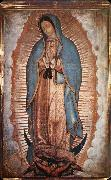 unknow artist Our Senora of Guadalupe oil painting on canvas