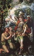 unknow artist Juan correa is the creator of this painting representing the expulsion of Adam and Eve from Paradise oil painting reproduction