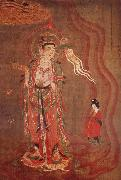 Guanyin as-guide of the souls, from Dunhuna