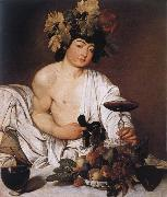 Caravaggio Youthful Bacchus oil painting reproduction